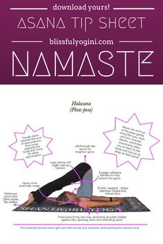 Read all about it and download your free asana tip sheet: http://www.blissfulyogini.com/?p=3530 ❤️ ~ aloha & namaste, blissfulyogini.com #blissfulyogini #asanatipsheet #yoga