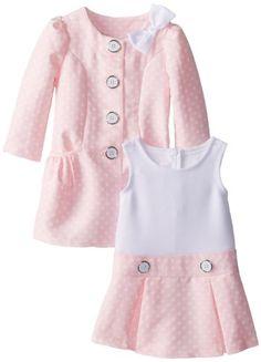 Bonnie Jean Baby Girls Pink Dotted Jacquard Coat & Dress Set, Pink, 3-6M Bonnie Baby http://www.amazon.com/dp/B00HT67TXY/ref=cm_sw_r_pi_dp_EkUiub19QETB1