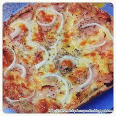 SI DE VERDAD QUIERES... ¡PUEDES!: PIZZA FITNESS