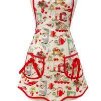 Costura: Delantal de cocina.  Aprende a coser haciendo un delantal de cocina chulísimo.  Puedes apuntarte aquí: http://tenclase.com/clase/costura-delantal-de-cocina