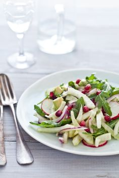 fennel pomegranate salad + 13 other delicious fennel recipes.