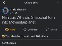 Snapchat, Haha, Ha Ha