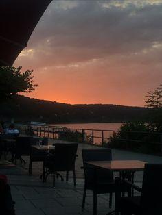 Sonnenuntergang am Rhein #ahrtalwandern
