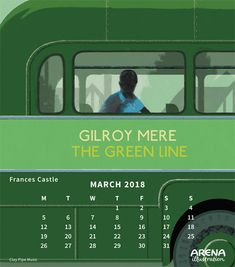 The Green Line Illustrated by Frances Castle Calendar 2018, Illustrators, Castle, France, Green, Image, Illustrator, French, Illustrations