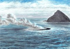 Whale, Volcanoes, Statue, Painters, Animals, Whales, Animales, Animaux, Volcano