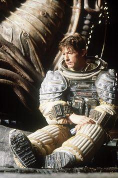 "mycultizm: John Hurt on the set of ""Alien"""