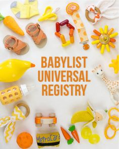 You can add anything to your baby registry with BabyList. Literally anything - even Etsy items, baby sitting, or an aquarium/zoo membership! It's easy, beautiful & free. BabyList works just like Pinterest. Simple enough for the grandparents-to-be too.
