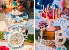 Alice in Wonderland Guest Dessert Feature | Amy Atlas Events