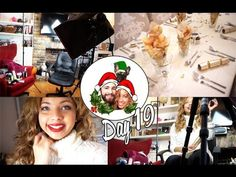 Filming videos & Early Christmas Dinner! ❄ Vlogmas 19