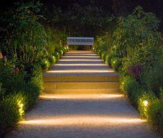 landscape pathway lighting - Google Search