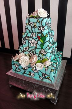 1000 images about wedding cakes stained glass on for Ikea avondale az