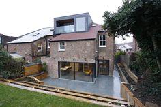 Large Glass Sliding Doors to residential refurb IQ Glass UK