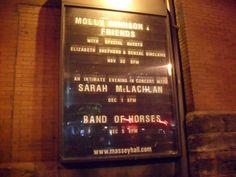 Massey Hall Dec 1 2012