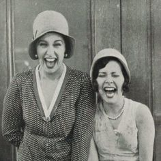 Friends, 1928. #women #laughing #friendship #timeless #vintage #photography #fashion #perfect