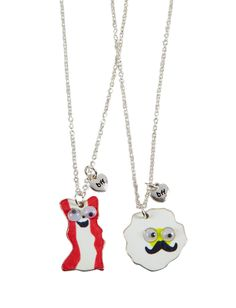BFF BACON AND EGGS NECK | Necklaces | Jewelry | Shop Justice