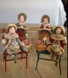 Miniaturas de Almudena González.