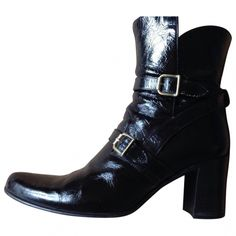 Free Lance Patent Leather Boots CjVkP3Osrk