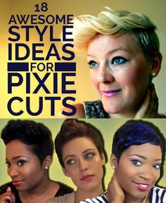 18 ideas for my new pixie cut!