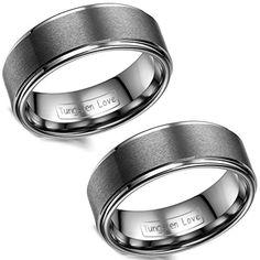 Aroncent 2PCS Herren Damen Ringe, 8mm Breite Wolframcarbi... https://www.amazon.de/dp/B01F70W98I/ref=cm_sw_r_pi_dp_8hovxb8K5E6HM