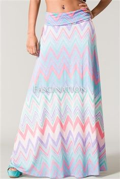 $49.00 lovely pastel lavender and mint maxi skirt