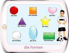 learn German - worksheets for kids