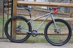 Nice looking Surly Karate Monkey - need to decide how to put this together! #bikes