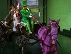 Now that's a horse of a different color...one of my fav moments in my fav movie