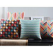 【Bailand】 Set of 4 Modern Minimalism New York's Lights Decorative Pillow Covers Decor, Throw Pillows, Linen Pillows, Pillows, Decorative Pillow Cases, Decorative Pillow Covers, Cushion Covers, Decorative Pillows, Cheap Cushions