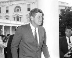 President John F. Kennedy Original caption: 3/7/1963-Washington, DC: President Kennedy, good 3/4 view.  Date Photographed:March 07, 1963.❤❤❤❤❤❤❤❤  http://en.wikipedia.org/wiki/John_F._Kennedy