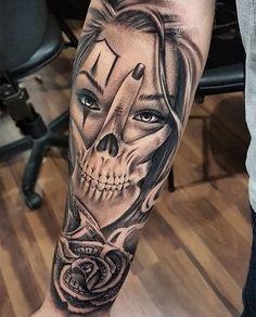 Half Sleeve Tattoo Ideas For Men - tatoo .- 70 Half Sleeve Tattoo Ideas For Men - Forarm Tattoos, Tattoos Arm Mann, Forearm Tattoo Men, Skull Tattoos, Clown Tattoo, Mens Tattoos, Girl Arm Tattoos, Couple Tattoos, Forearm Tattoos For Guys