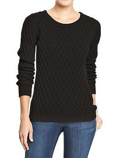 Women's Printed Crew-Neck Sweaters | Old Navy I may $18 for this ...