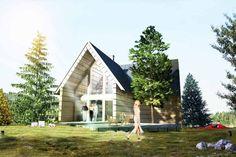 Projektowanie domów drewnianych Podhale - INNO Pracownia Architektury Zakopane