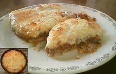 DUKANομαγειρευοντας: Dukan Minced Beef Pie Minced Beef Pie, Beef Pies, Mince Meat, Dukan Diet, Lasagna, Cheese, Chicken, Ethnic Recipes, Food