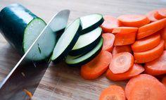 Ovnsbakt laks med grønnsaker i currysaus | EXTRA