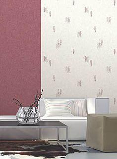 Papier peint Ombeline prune