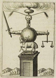 Emblemata Nova by Andreas Friedrich Memento Mori, Engraving Illustration, Illustration Art, Alchemy Art, Medieval Paintings, Esoteric Art, Tarot, Occult Art, Nova