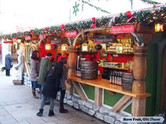 Mulled wine at the Augsburg, Germany Christmas market