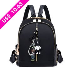 Boda Económica Fashion Leisure Oxford backpack women backpack female for school in korean styleintothea Backpack Outfit, Fashion Backpack, Girl Backpacks, School Backpacks, Stem Challenge, Oxford, Korean Fashion Summer, Fashion For Petite Women, Small Backpack