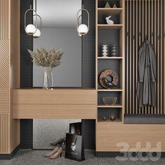 Wardrobe Door Designs, Wardrobe Design Bedroom, Bedroom Furniture Design, Modern Hallway Furniture, Hall Furniture, Home Room Design, Home Interior Design, Living Room Designs, House Design