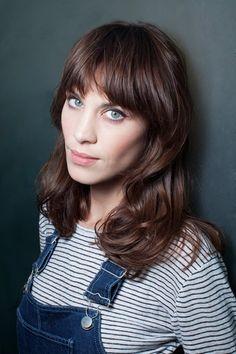 Love her hair cut. Alexa Chung Hair Beauty Interview (Vogue.com UK)