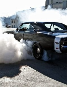 I can smell the burning rubber and feel the vibrations from the power! oh yeah!
