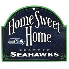 seahawks signs   |  This is on my front door already.. thanks Naches, WA hahahaha