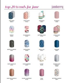 Which trend is your favorite?  stinabella.jamberry.com