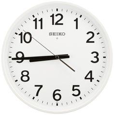 Amazon|SEIKO CLOCK (セイコークロック) 掛け時計 スイープ アナログ 電波時計 KX317W|置き時計・掛け時計 オンライン通販