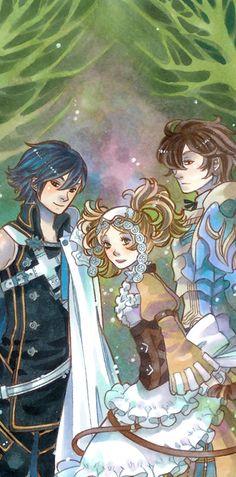 Chrom, Lissa and Frederick
