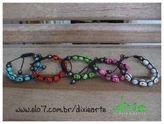 Shambalas de Caveiras!!!    www.elo7.com.br/dixiearte