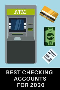 Checking accounts are essential assets that most people are often required to have since they're where their personal financial life will be centered. Here are the six best checking accounts for 2020 Ways To Save Money, How To Get Money, Money Saving Tips, Marketing Digital, Online Marketing, Atm Cash, Renda Extra Online, Checking Account, Savings Plan