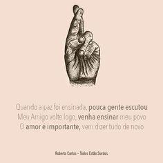 MUSICA DO DIA #529: ROBERTO CARLOS - TODOS EST�O SURDOS