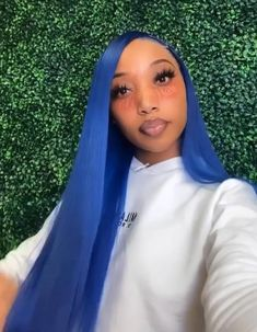 Hairdos, Weave Hairstyles, Straight Hairstyles, Cool Hairstyles, I Like Your Hair, Blue Weave, Natural Hair Styles, Long Hair Styles, Sew Ins