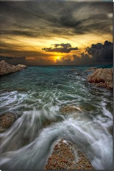 Beach Sunset - Bankok, Thailand